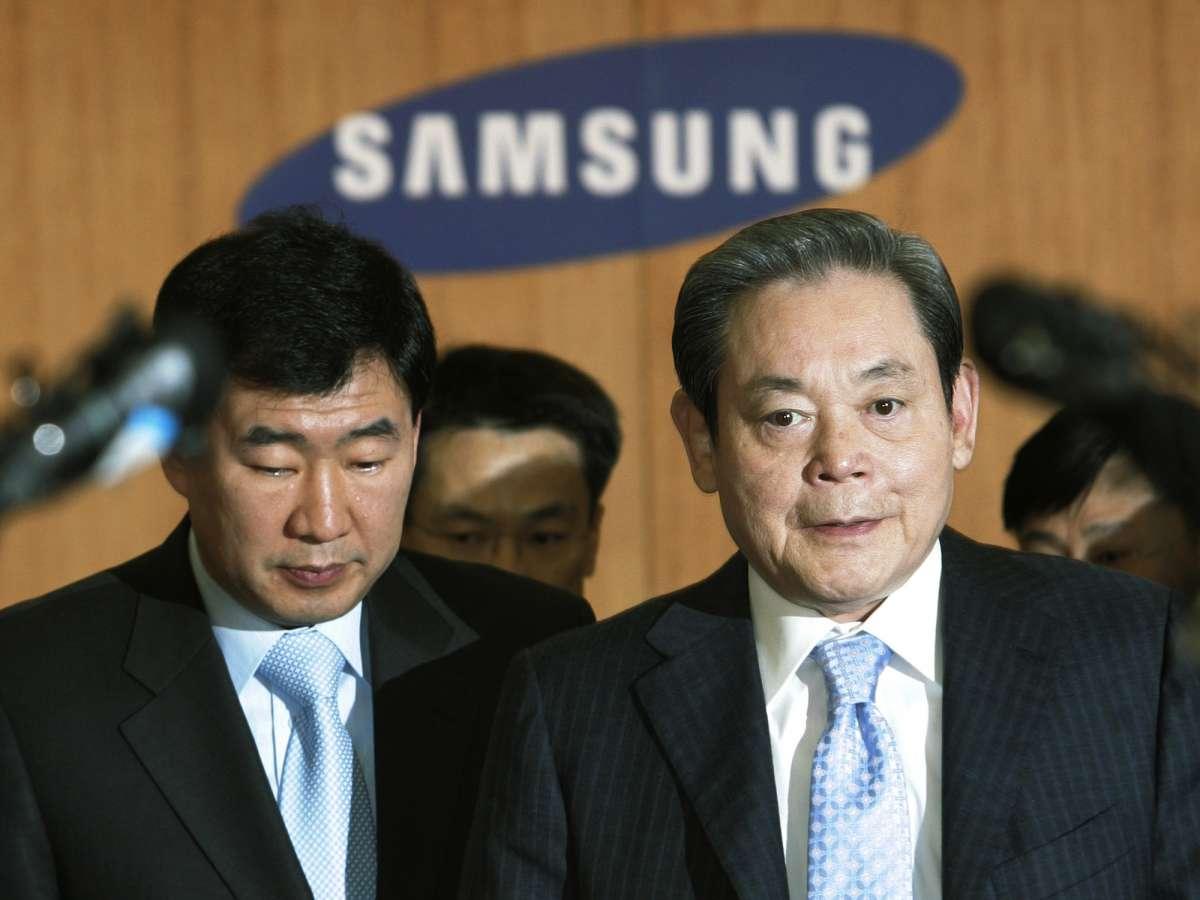 Presidente da Samsung