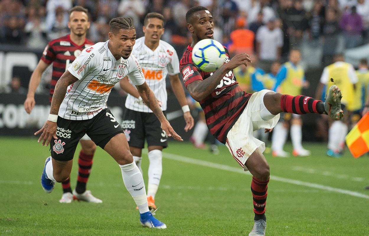 Corinthians e Flamengo se enfrentam pelo Brasileirão de 2019
