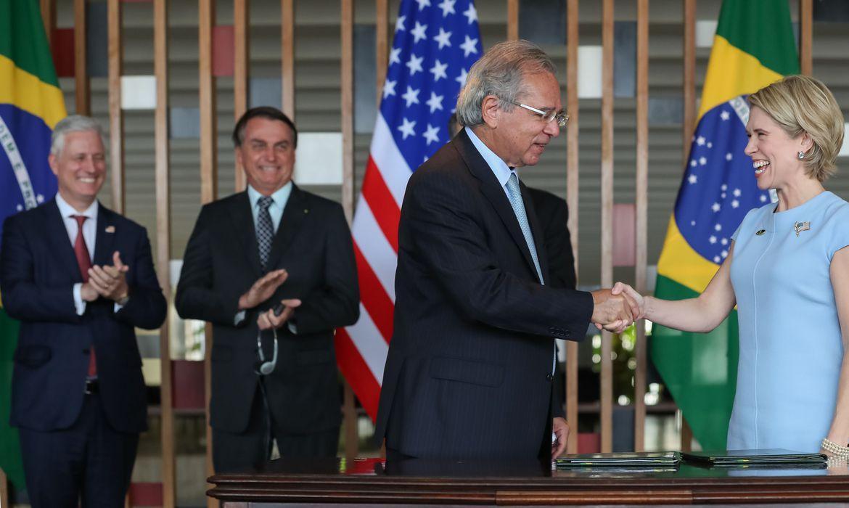 Investimentos no Brasil foram anunciados hoje. Foto: Marcos Corrêa/PR