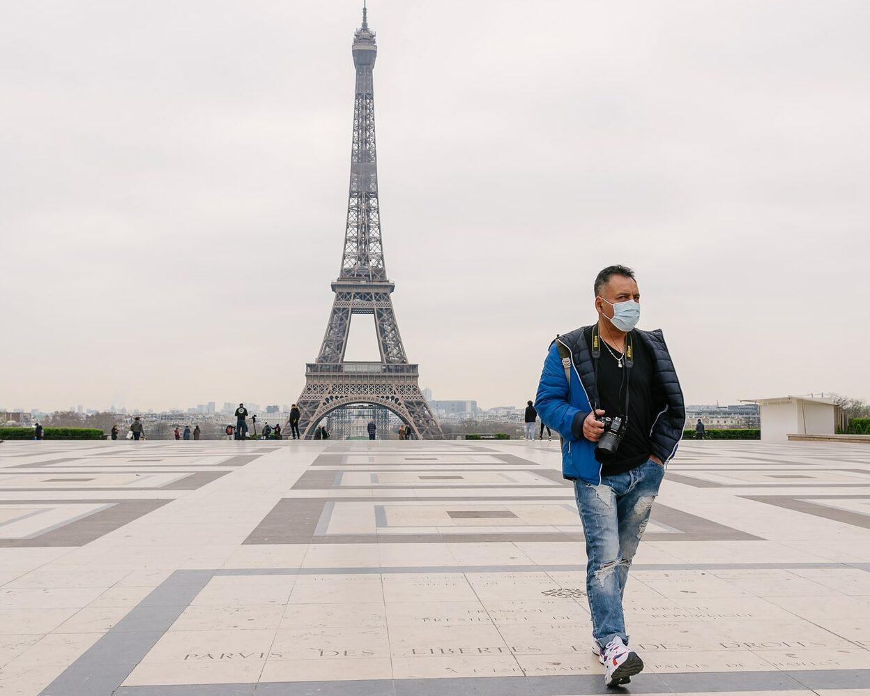 coronavírus em Paris