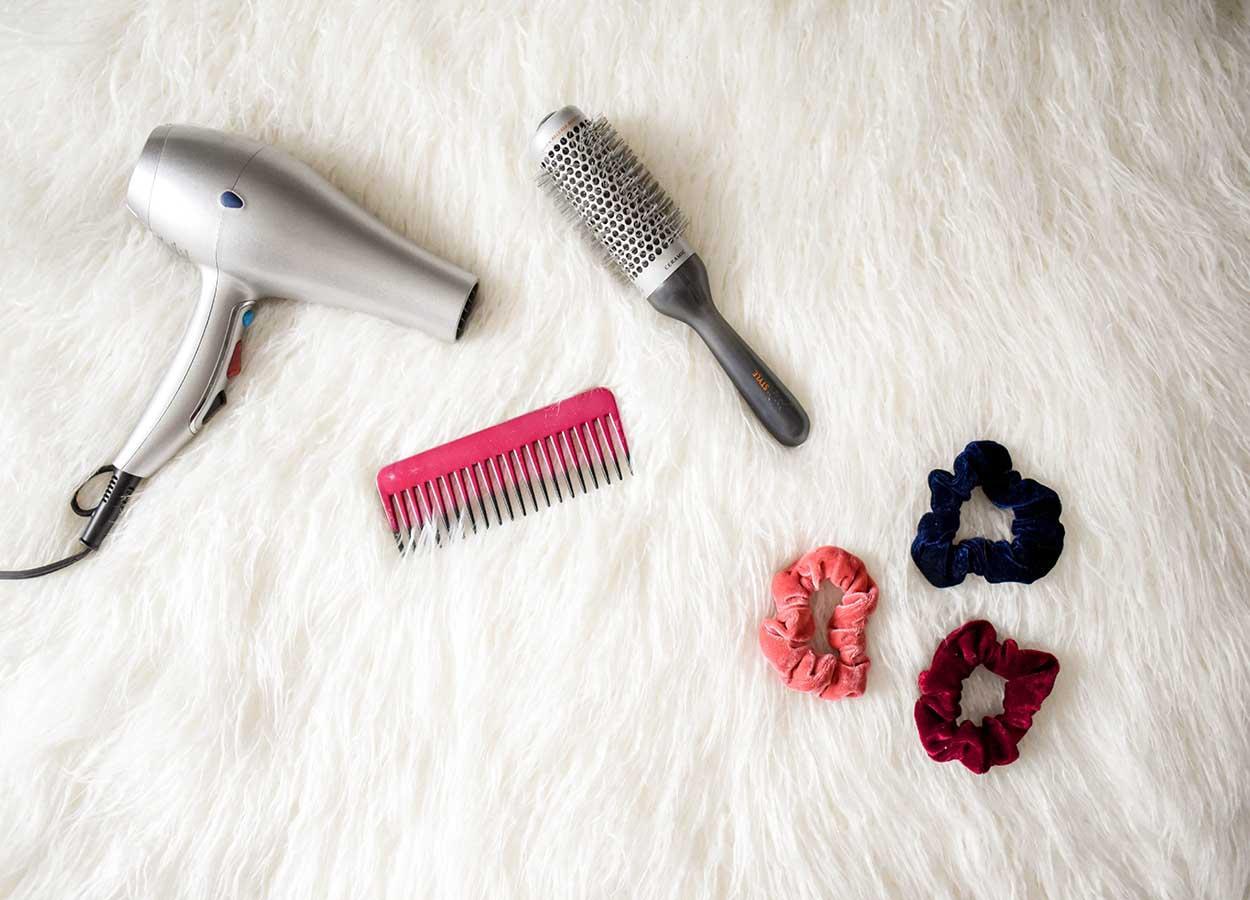 uso de aparelhos térmicos cabelos danificados