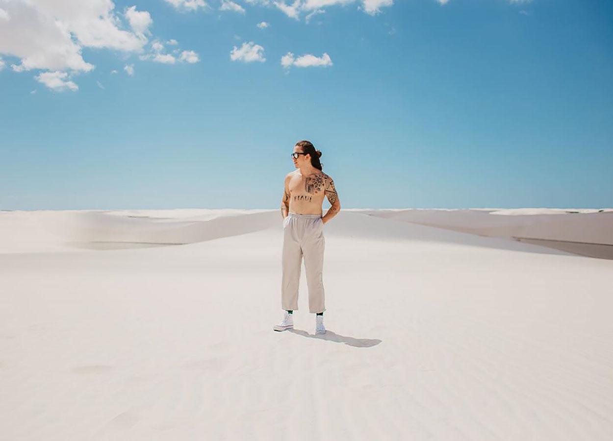 oasis de dunas e lagoas de agua doce maranhao