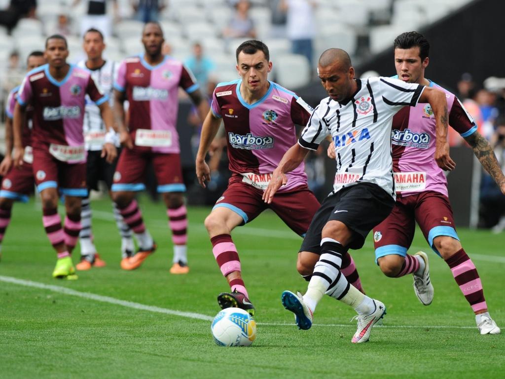 Equipe inglesa veio ao Brasil novamente para um amistoso contra o Corinthians, em 2015