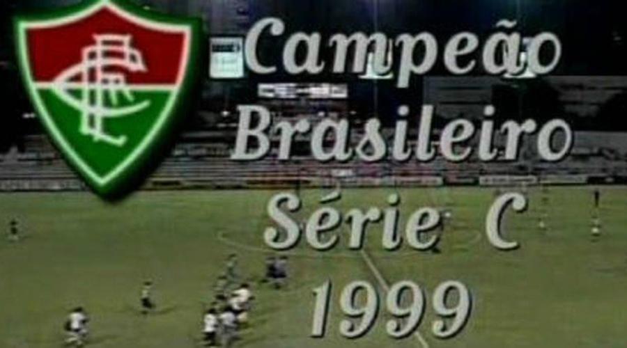 Fluminense campeão da terceira divisão de 1999