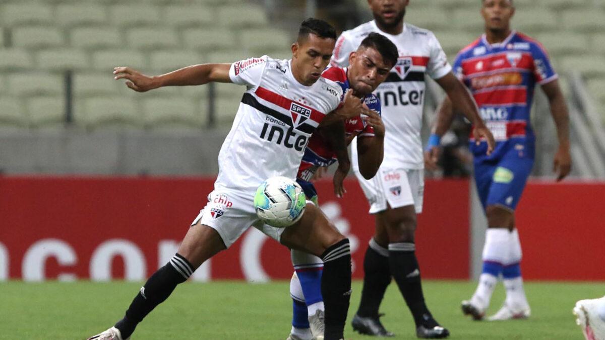 São Paulo e Fortaleza definem primeira classificado das quartas da Copa do Brasil