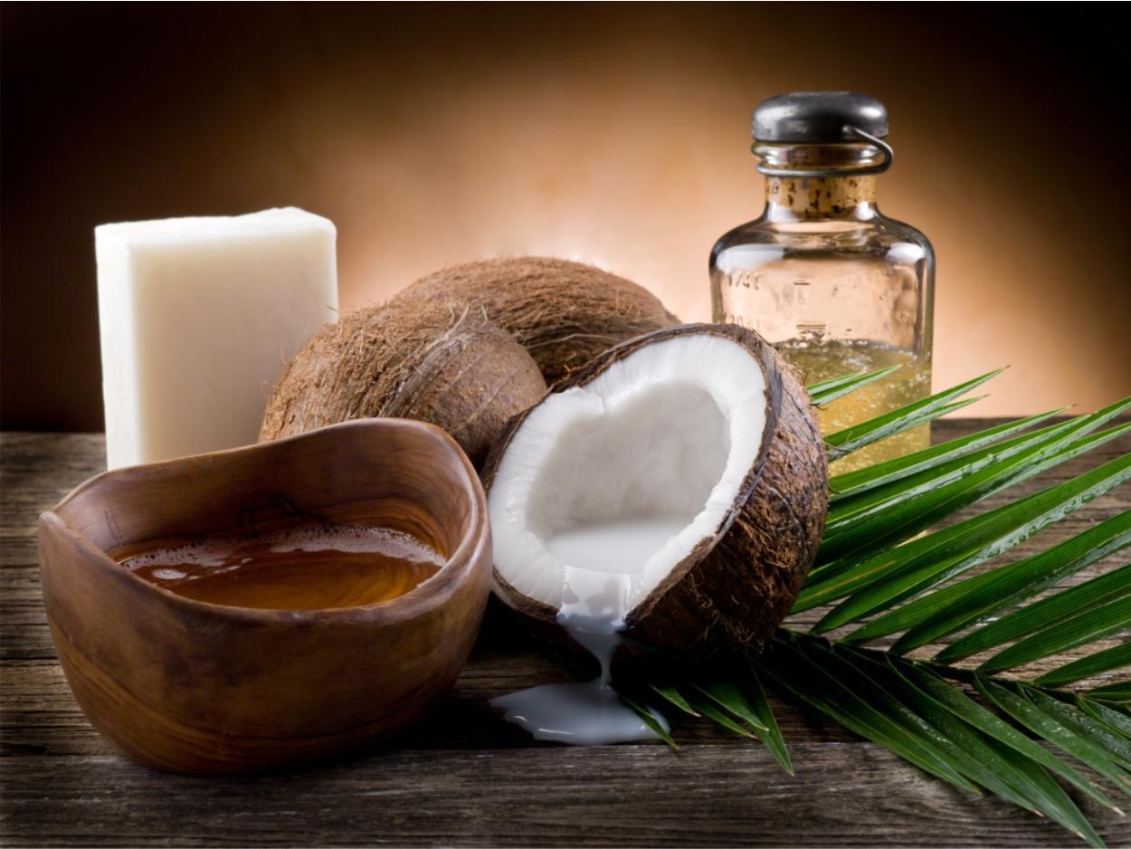 Receita de hidratação com óleo de coco