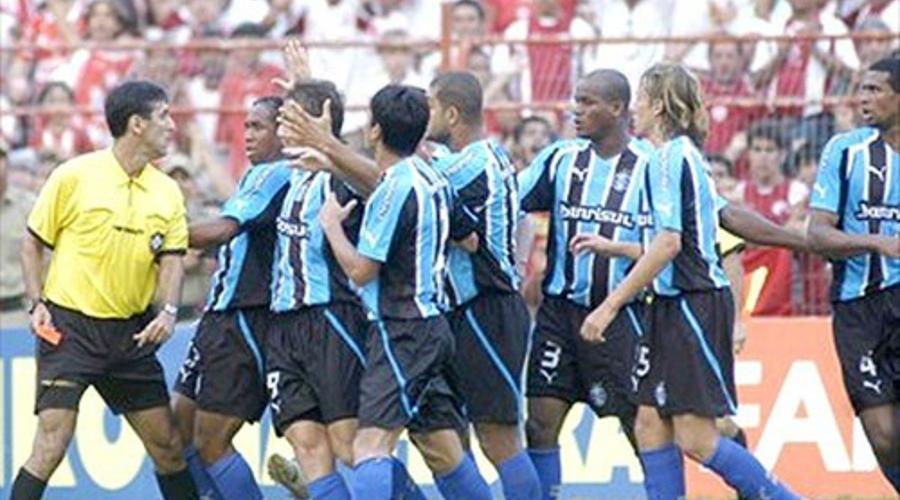 Grêmio na Batalha dos Aflitos pela Série B de 2005