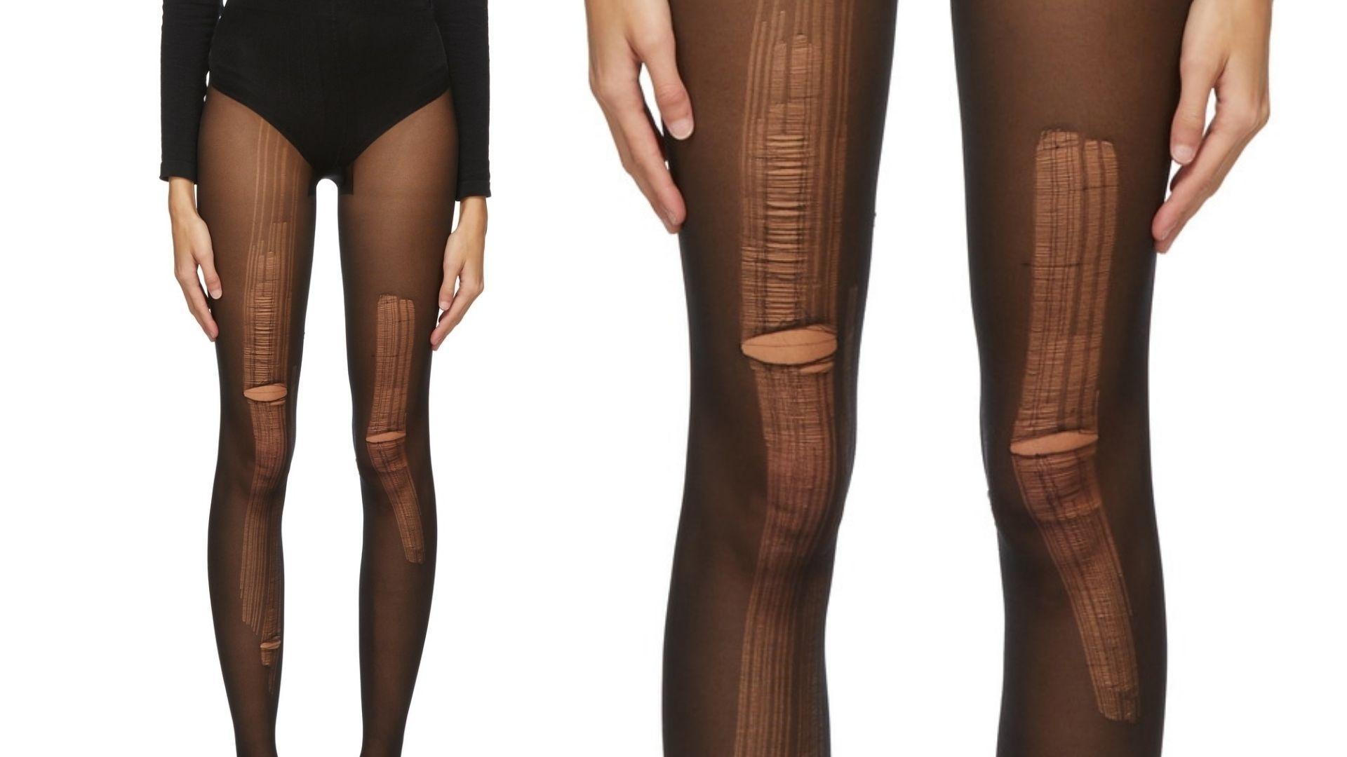 Gucci vende meia-calça rasgada por mais de R$1 mil