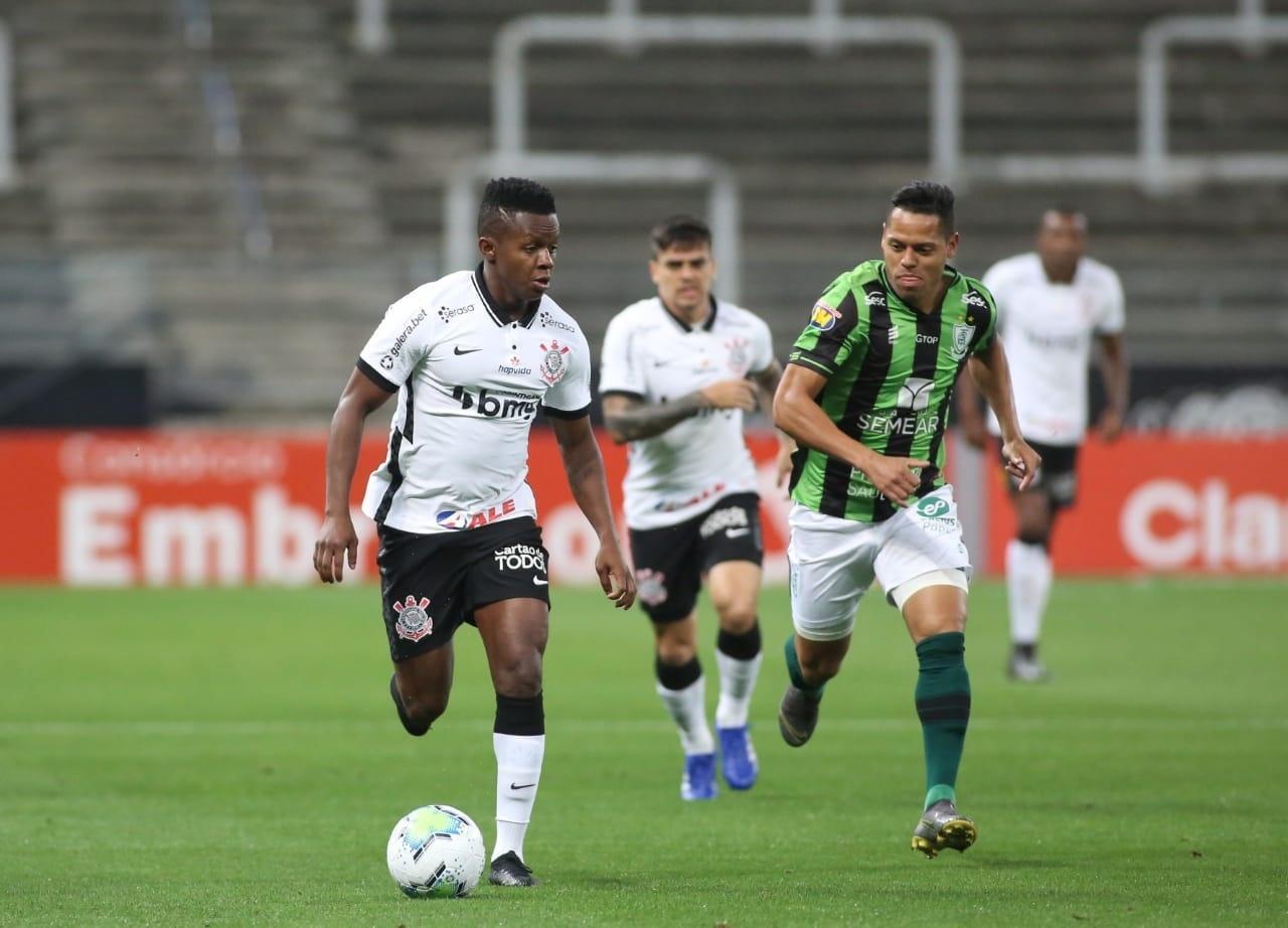 Corinthians perde para América MG, e acumula segunda derrota seguida em casa