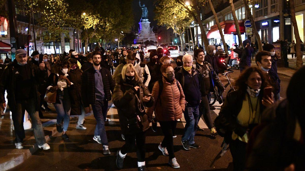Lockdown na França: população protesta contra nova medida