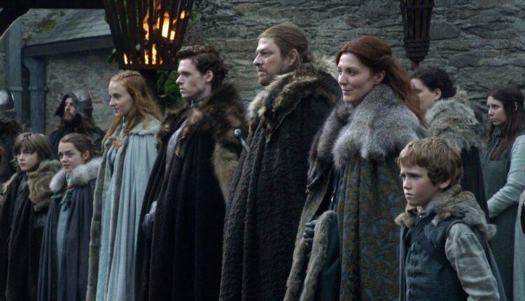 Família Stark em Game Of Thrones