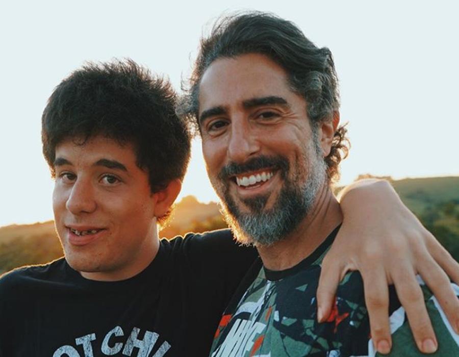 Marcos Mion e Romeu Mion