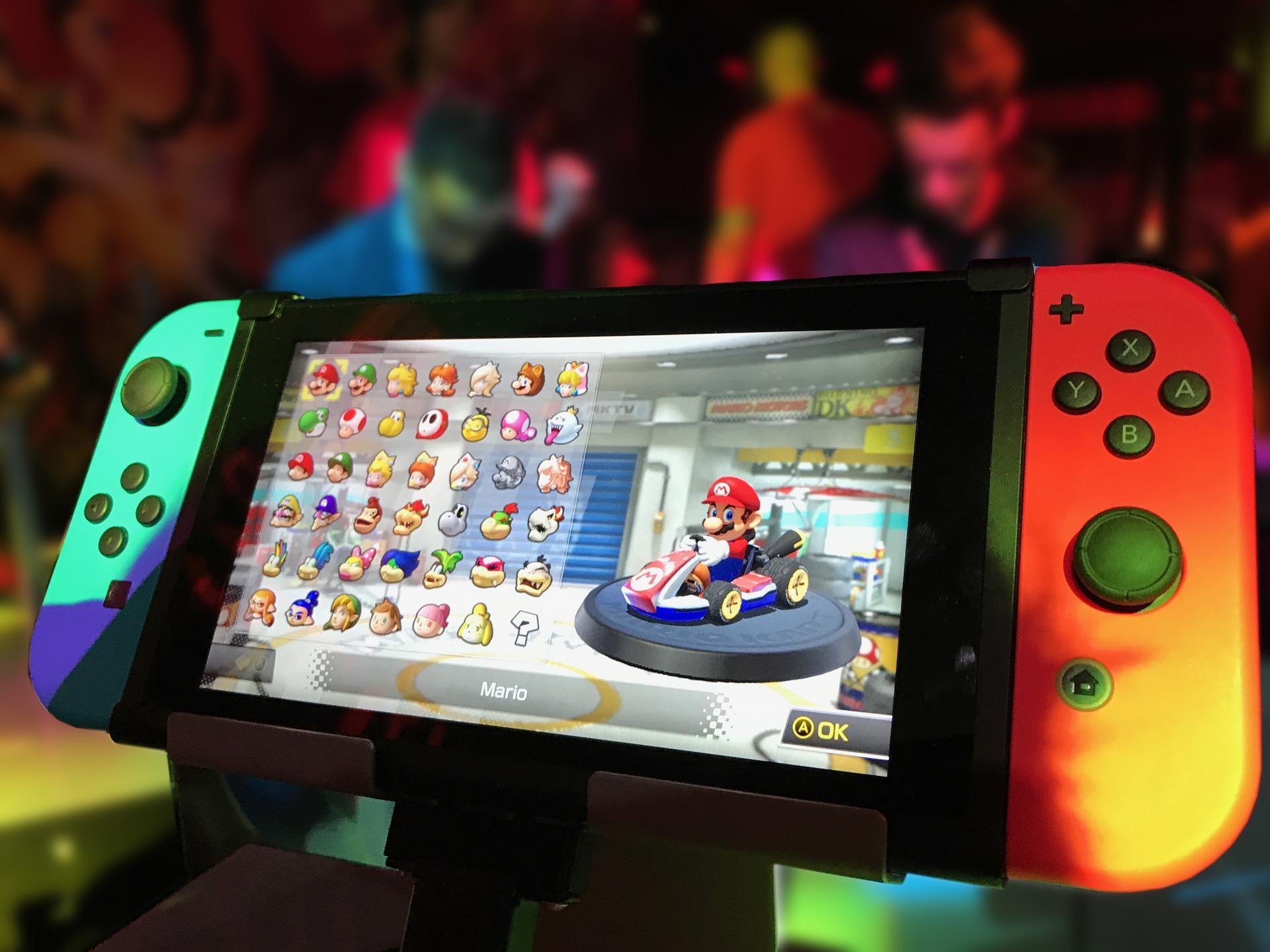 matéria fala do balaço da Nintendo em 2020 quando empresa bateu recorde de vendas