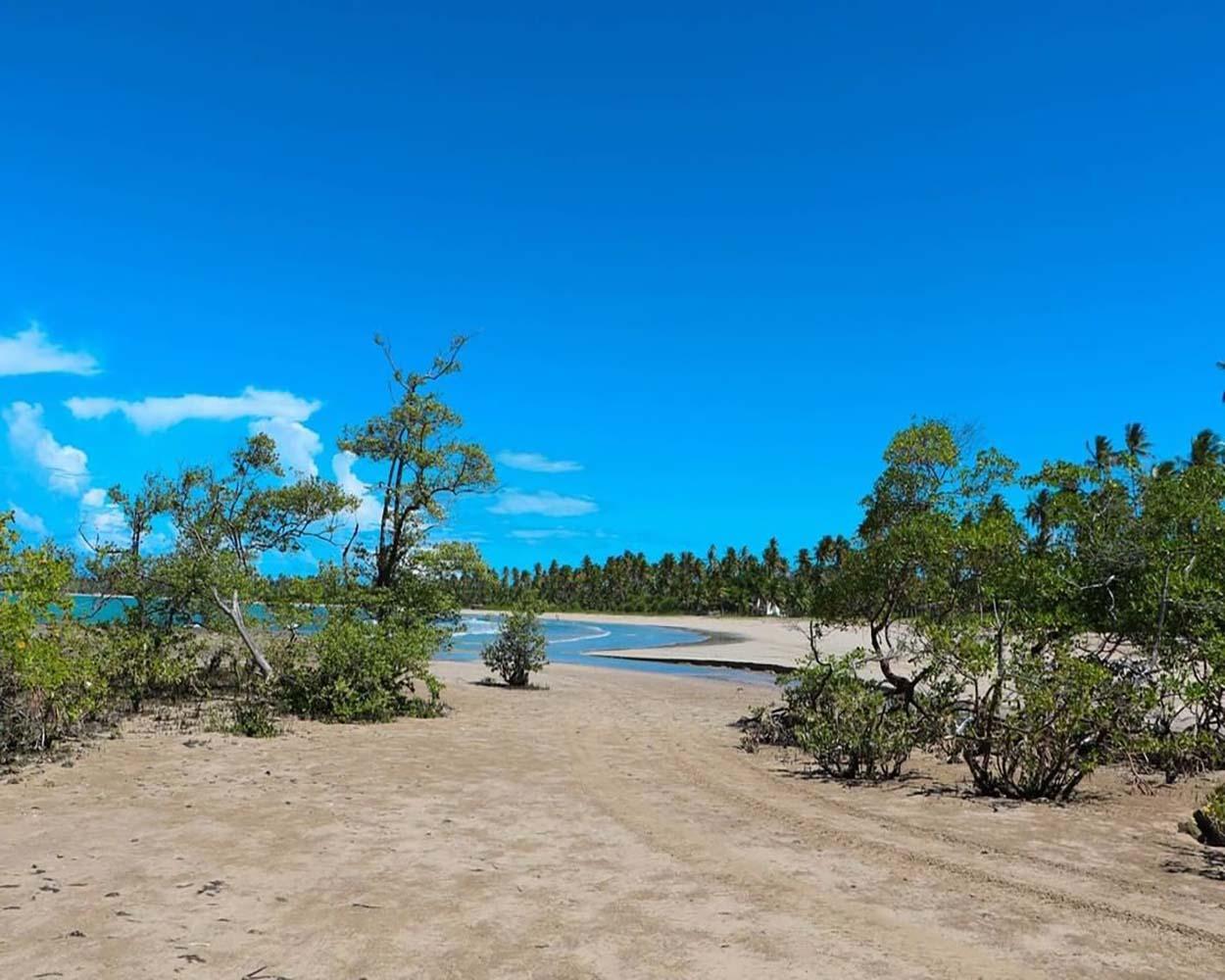 praia deserta morro de são paulo