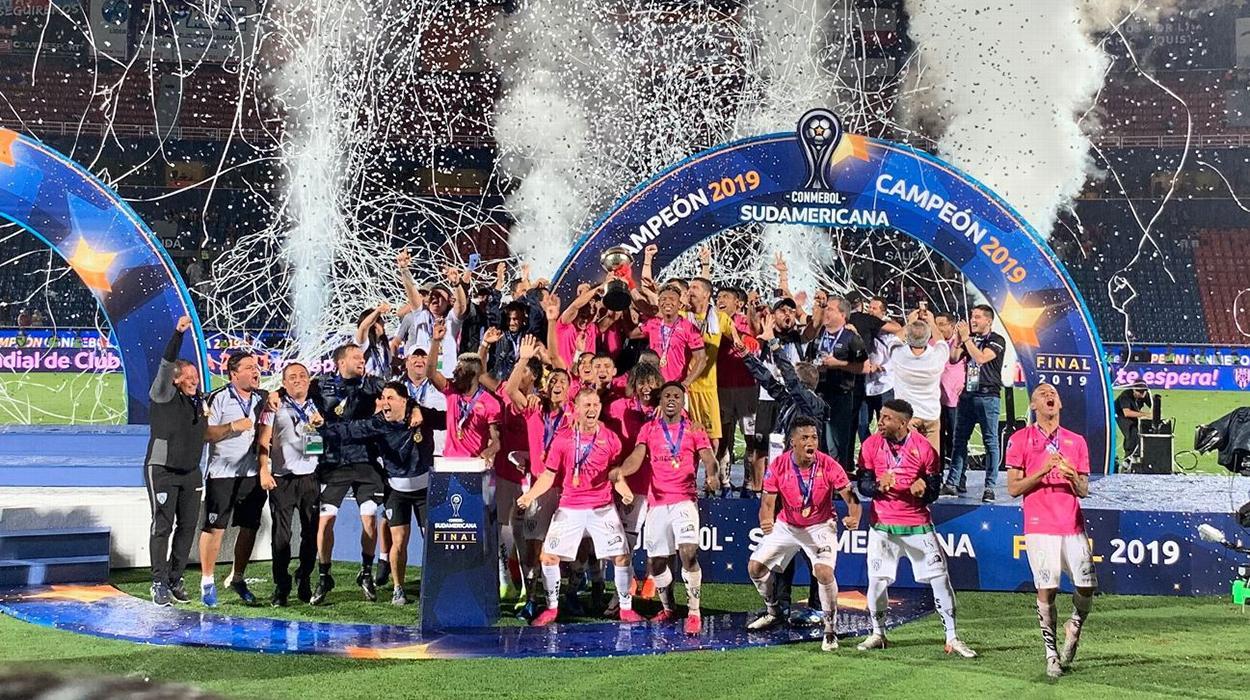 Independiente del Valle comemora título da Sul-Americana em 2019