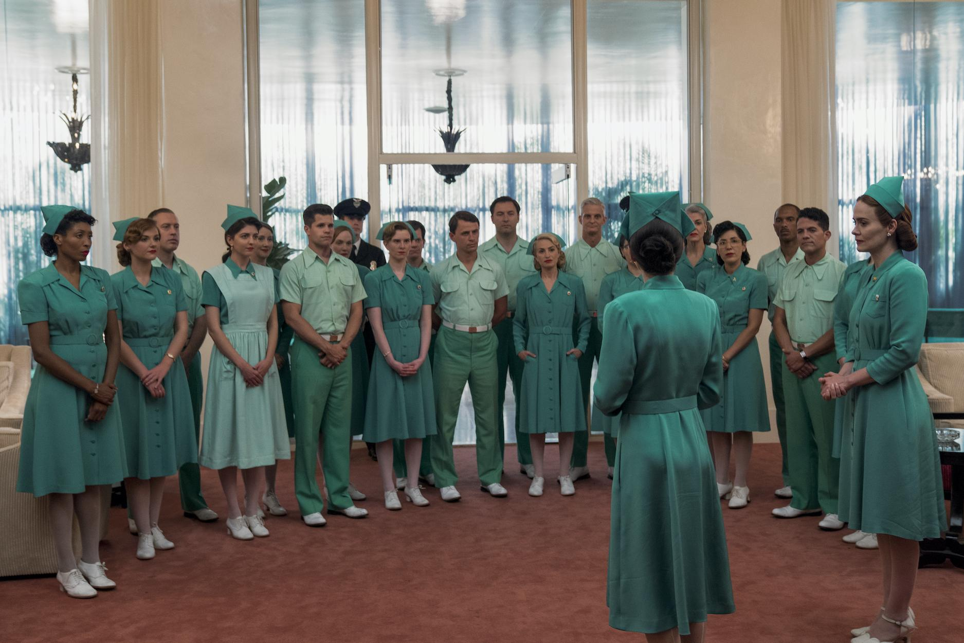 equipe de enfermagem da série