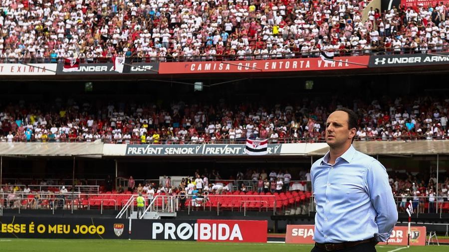 Rogério Ceni jamais venceu seu ex-clube, num Fortaleza x São Paulo, mas histórico pode mudar hoje