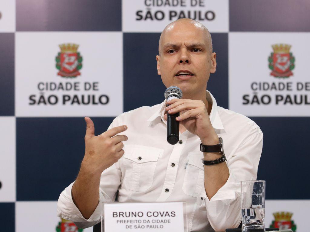 Bruno Covas lidera pesquisa sobre intenções de votos nas Eleições 2020 SP