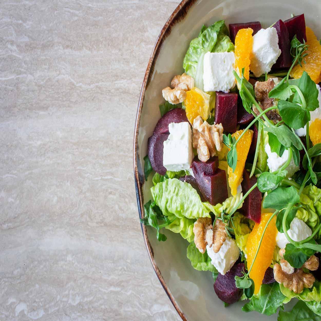 saladas para jantar fir