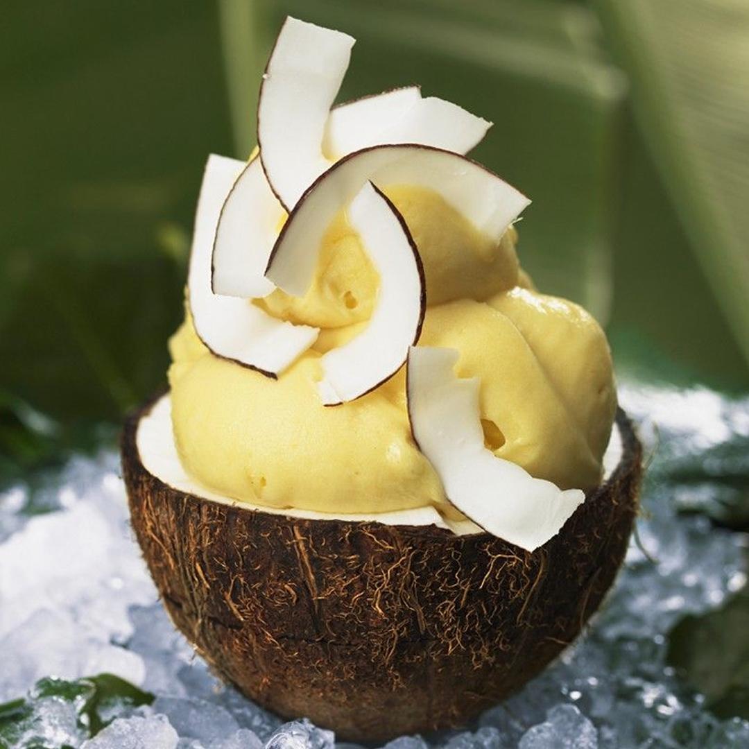 Sorbet de coco