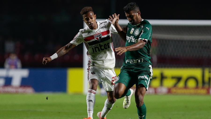Palmeiras x São Paulo brigam pelo G-4 do Brasileirão