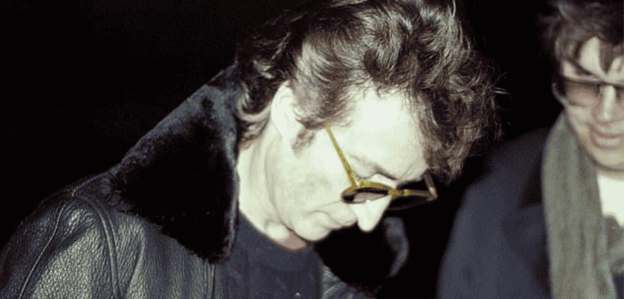 A última foto de John Lennon em vida