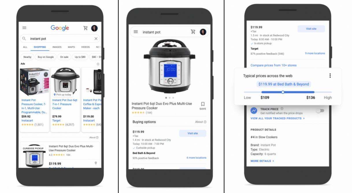Comparador de preços do Google para usar na Black Friday 2020