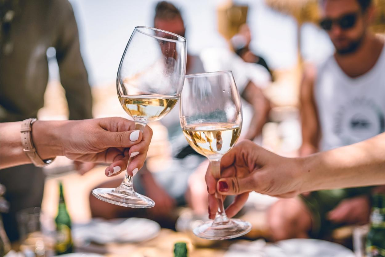 vinho frisante é a bebida do verão