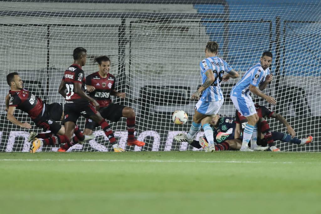 Após empatarem, Flamengo e Racing voltam a se enfrentar dia 1/12
