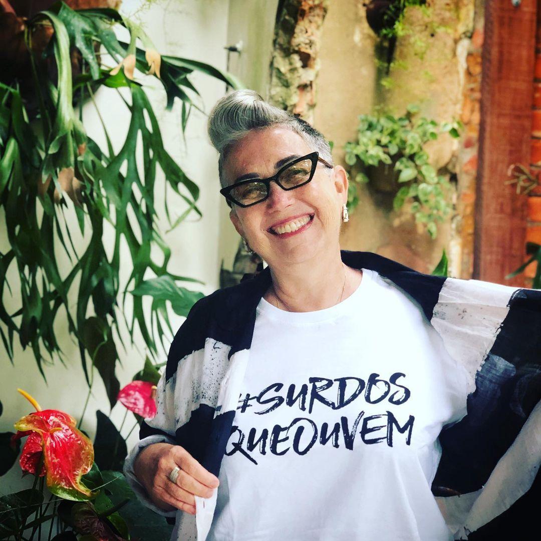 Imagem mostra Claudia Werneck, mãe da Tatá Werneck
