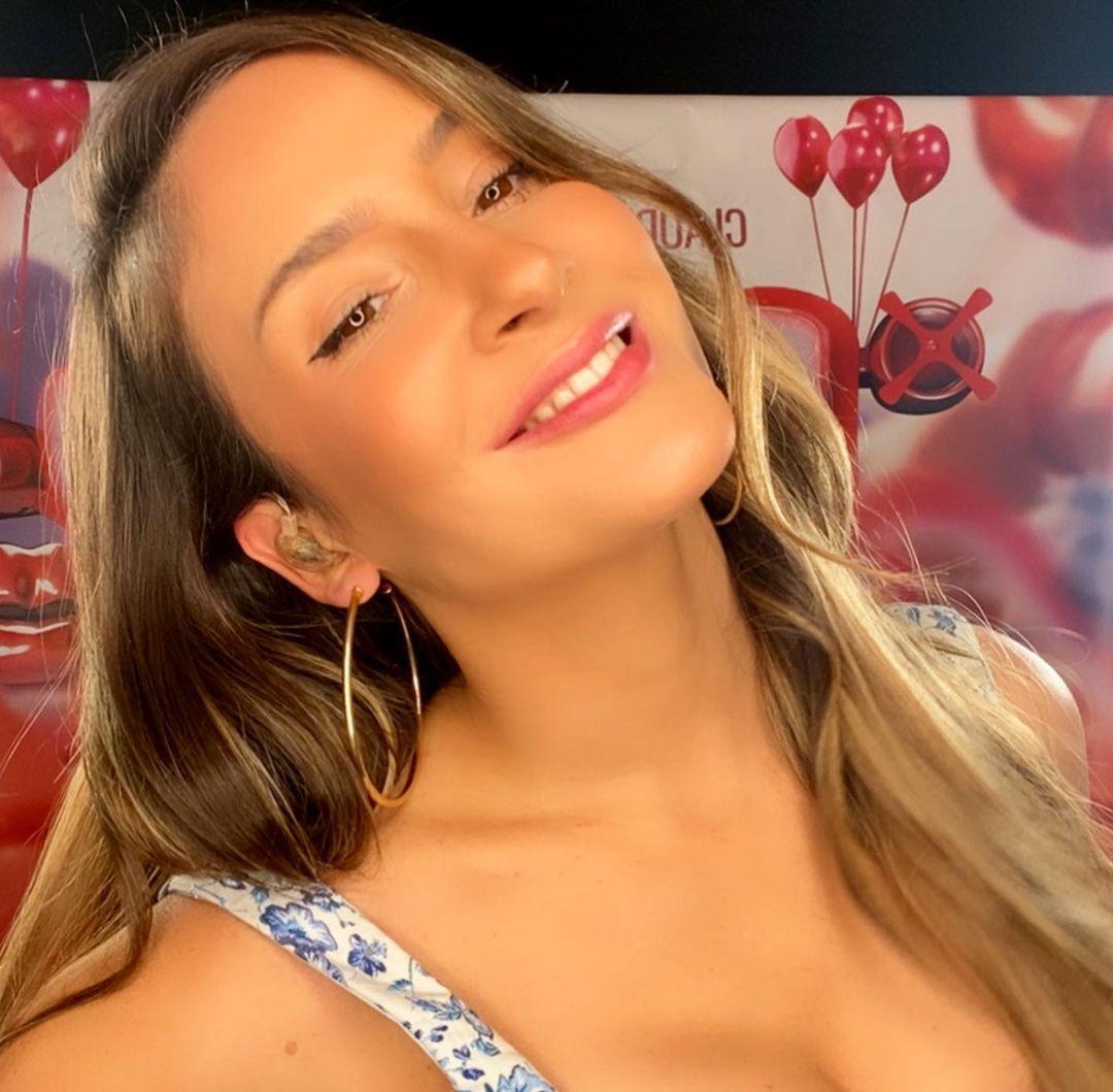 Imagem mostra rosto da cantora Claudia Leitte