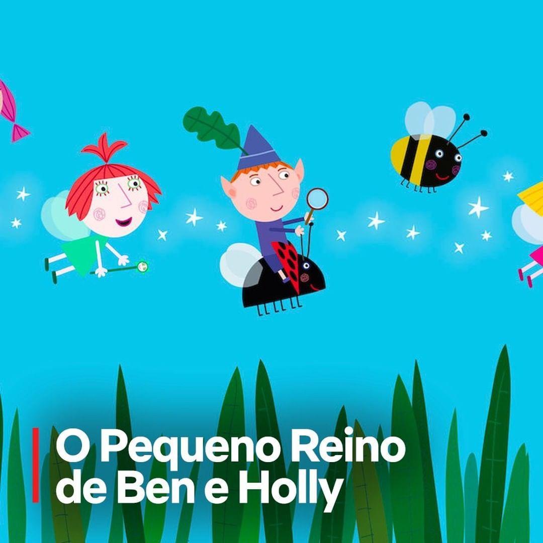 Imagem mostra desenho O Pequeno Reino de Ben e Holly