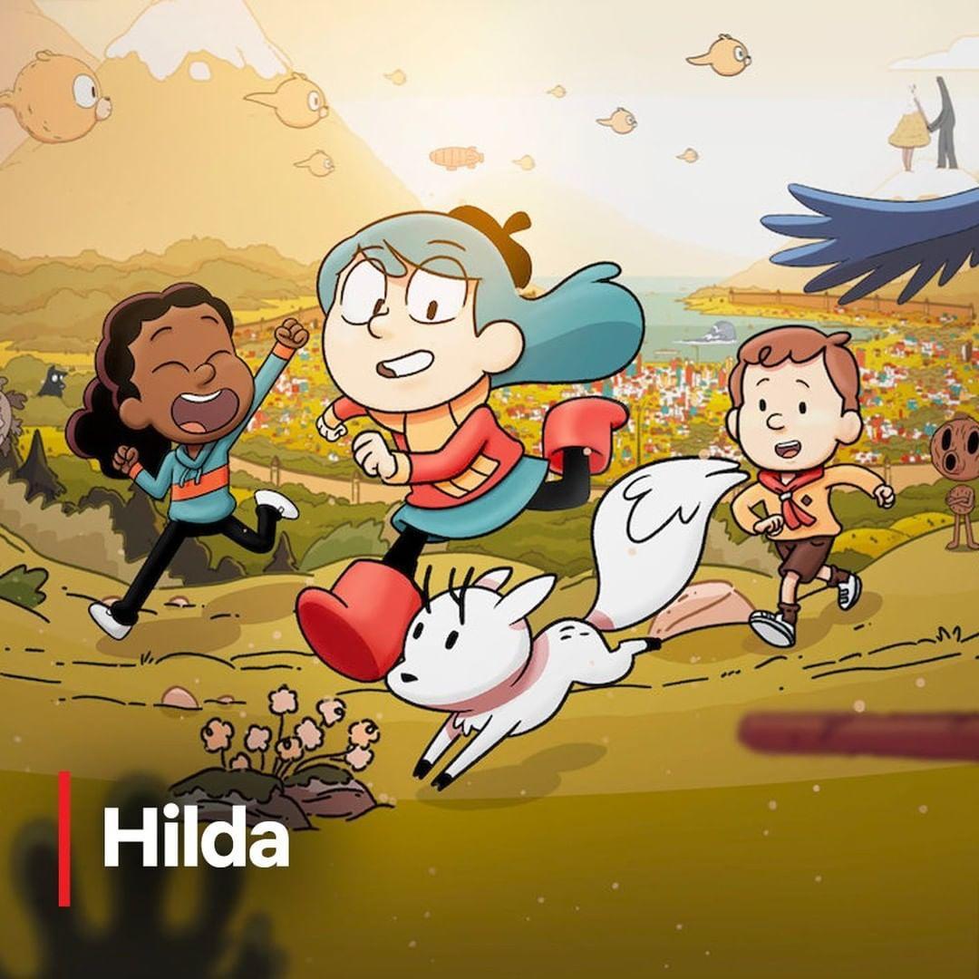 Imagem mostra desenho Hilda