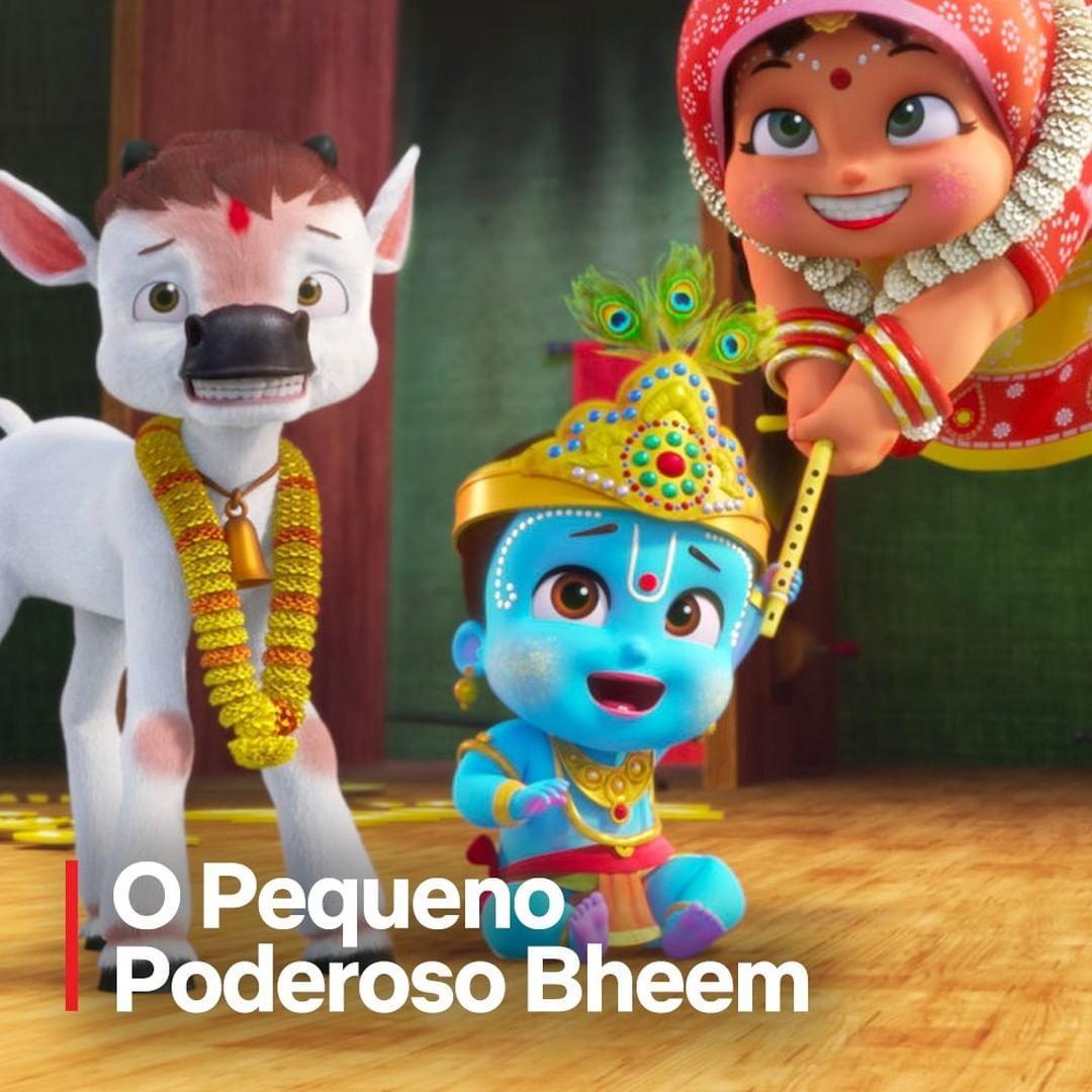 Imagem mostra O Pequeno Poderoso Bheem