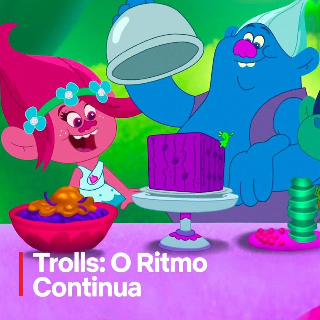 Imagem mostra desenho Trolls