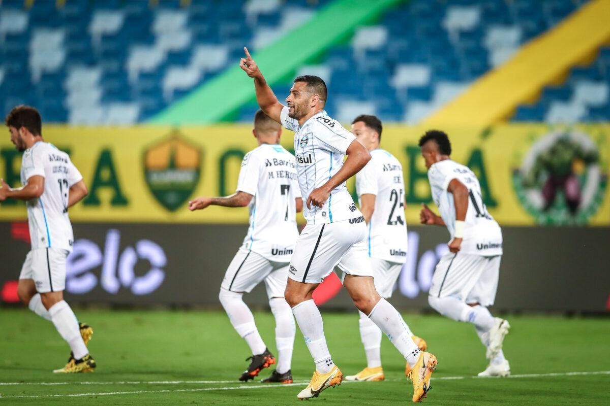 No jogo de ida, Diego Souza anotou um dos gols da equipe gaúcha