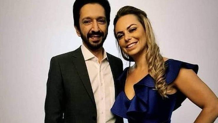 eleições sp 2020: Ricardo Nunes e Regina Carnovale