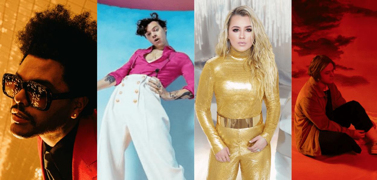 The Weeknd, Harry Styles, Gabby Barrett e Lewis Capaldi: nomes por trás das melhores músicas de 2020