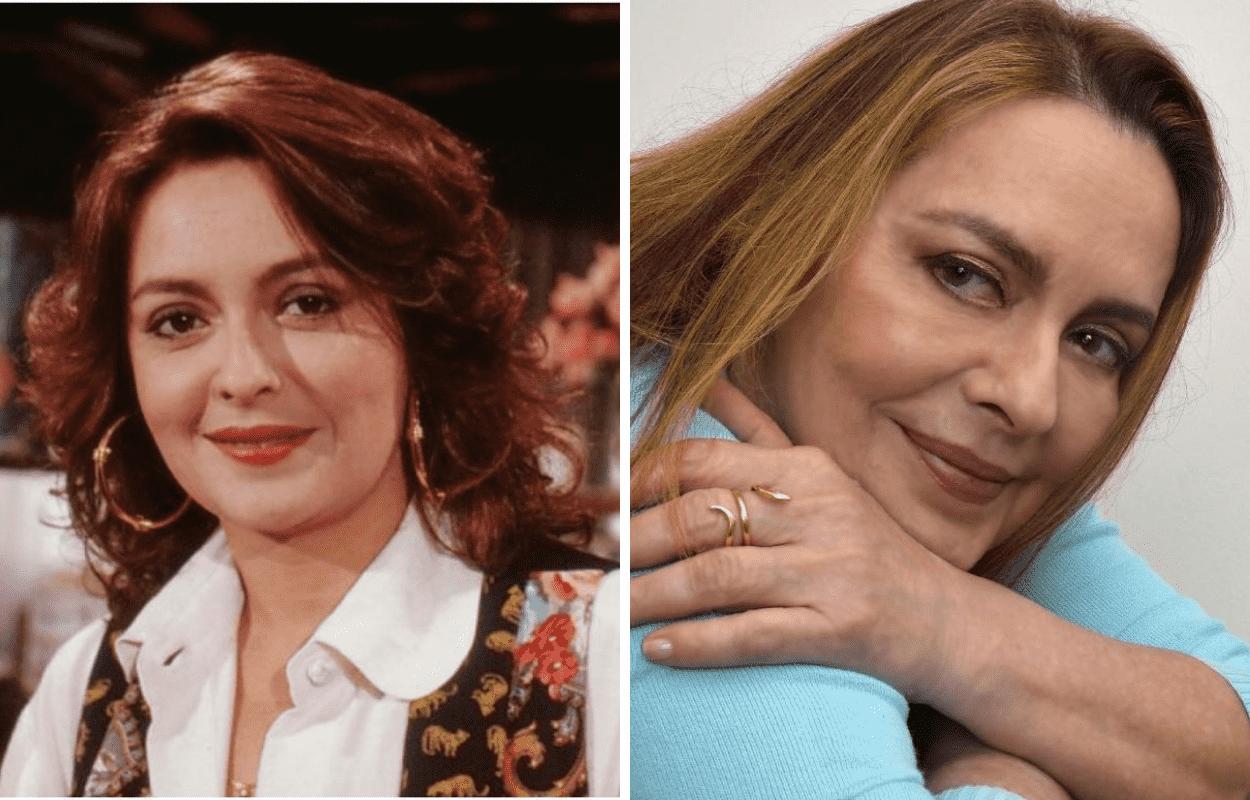 Imagem mostra antes e depois de Maria Zilda