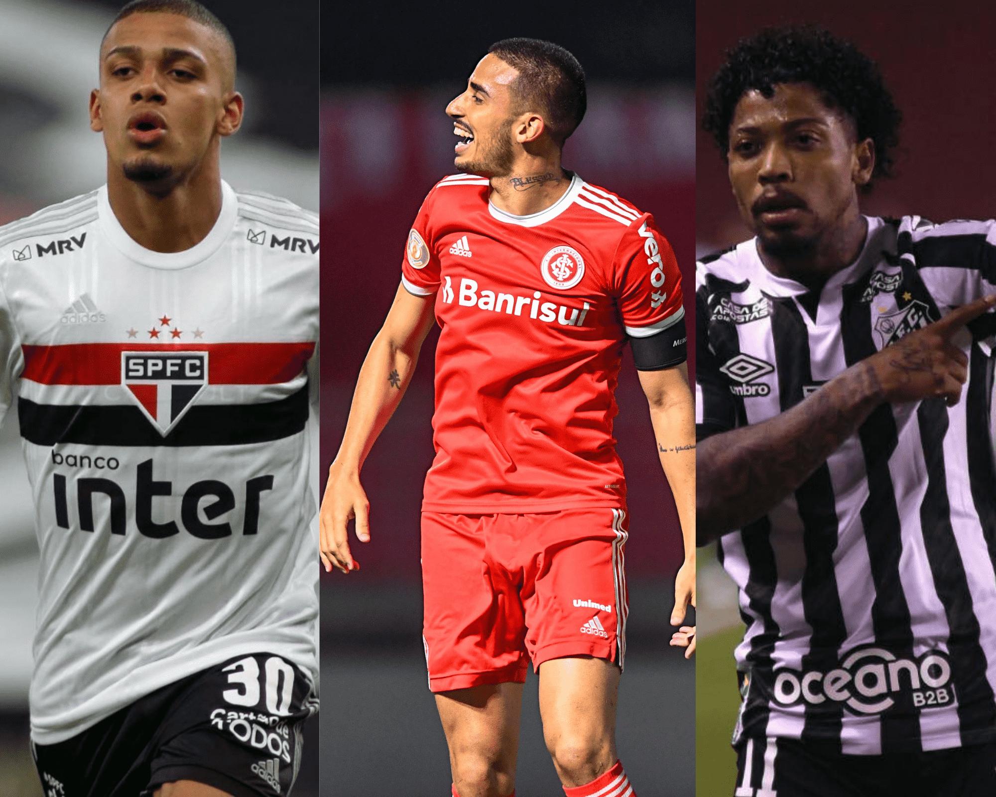 Imagem mostra jogadores mais escalados do Cartola FC