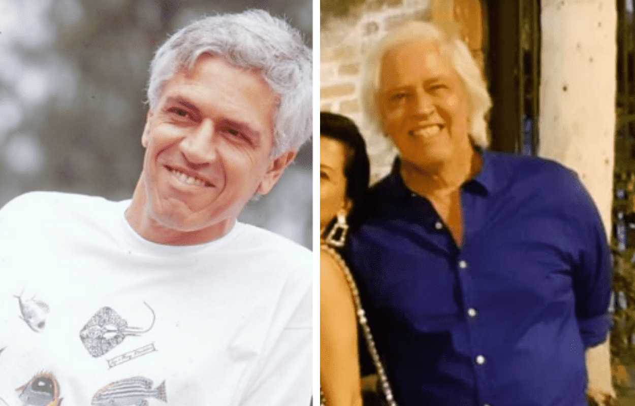 Imagem mostra antes e depois de Nuno Leal Maia