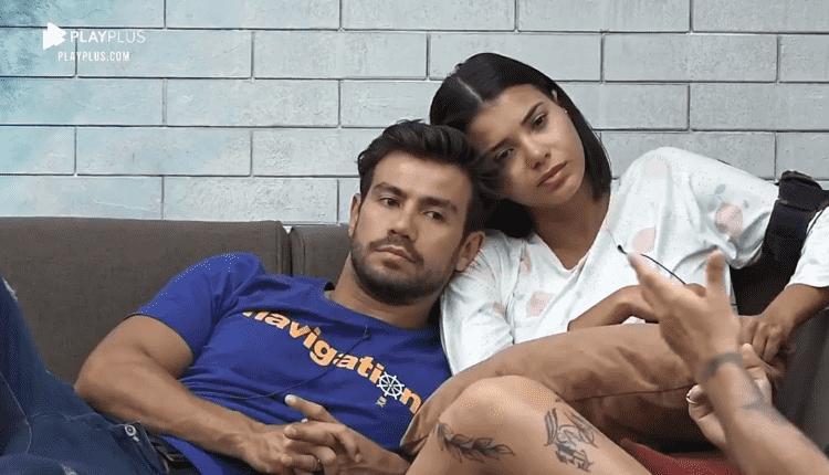 Mariano e Jakelyne Oliveira em A Fazenda 2020