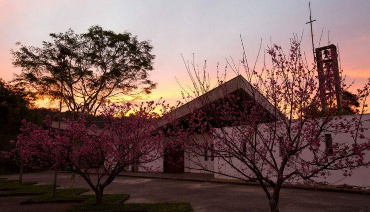 Mosteiro Nossa Senhora da Paz que fica em Itapecerica, cidade em que é gravado A Fazenda