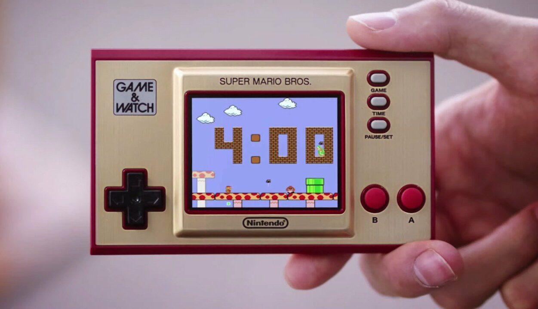 Nintendo relança Game & Watch