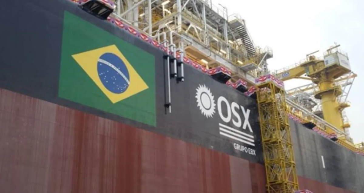 OSXB3, empresa naval que saiu da recuperação judicial