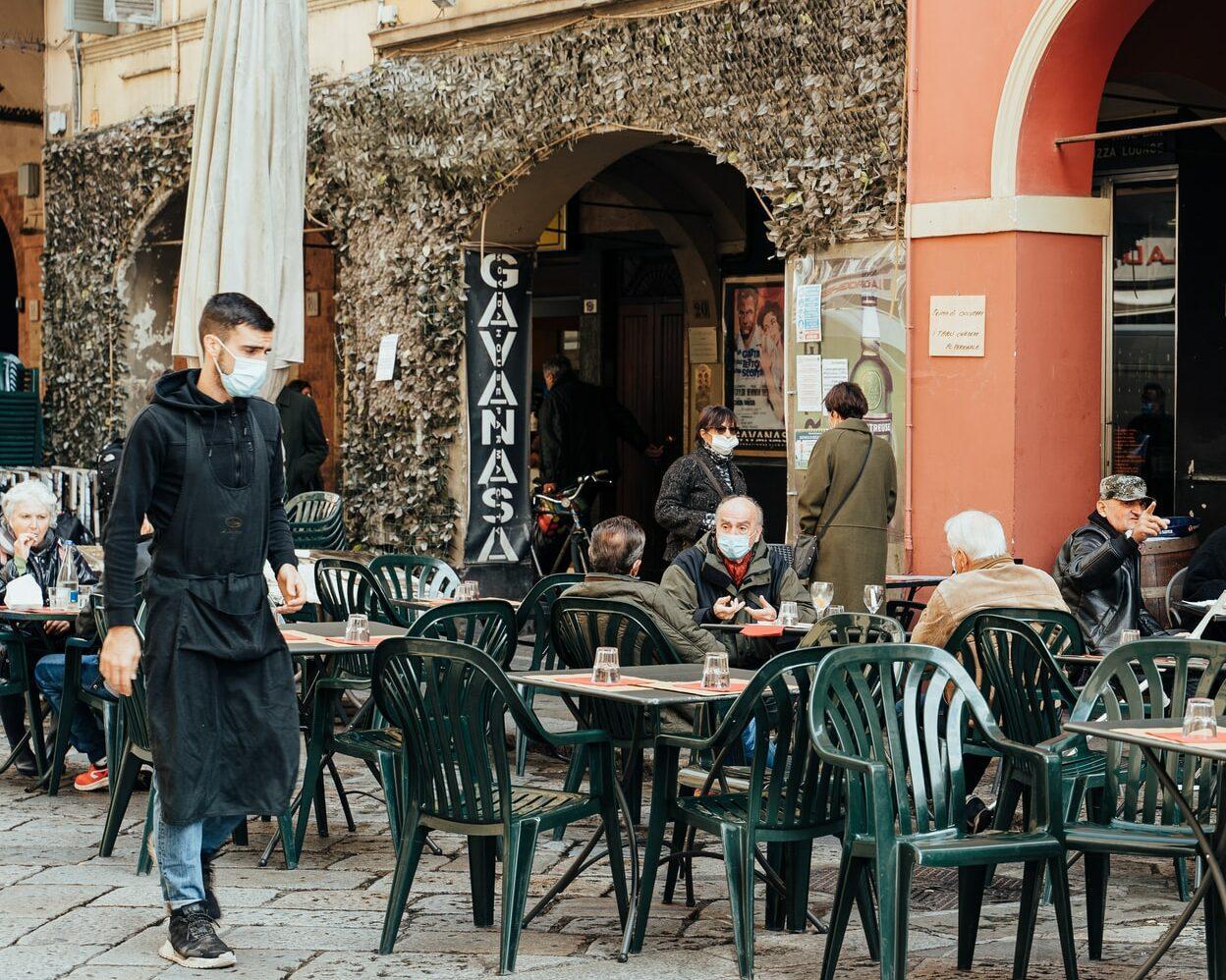 Regiões na Itália são fechadas