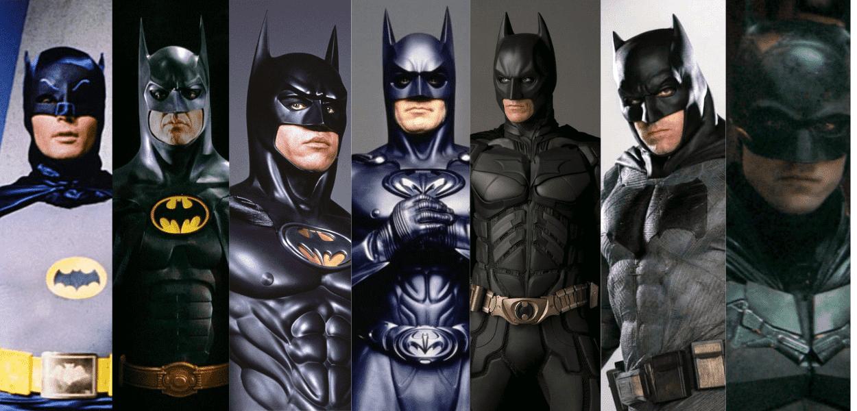 Todos os atores que interpretaram o Batman nos cinemas