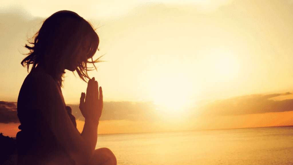 rezar pela manhã