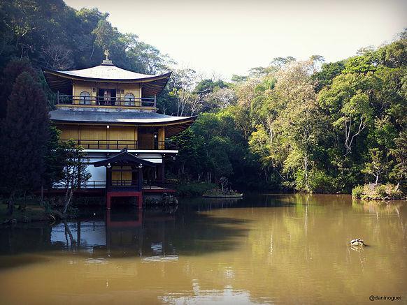 Templo Kinkaku fica na cidade sede de A Fazenda