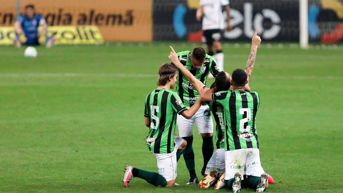América MG chega pela primeira vez às quartas da Copa do Brasil
